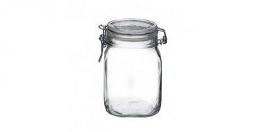 Borcane de sticlă ermetice