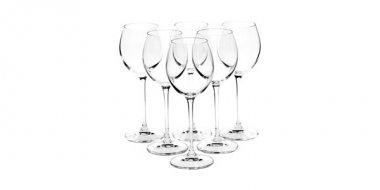 Set pahare vin alb