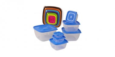Set cutii alimentare cu capac